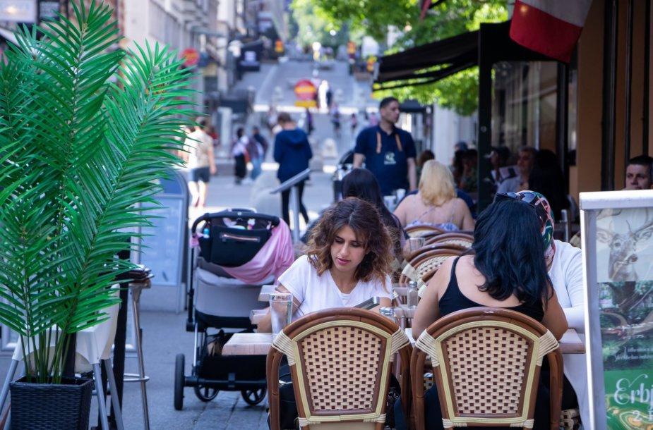 Švedija piliečių gyvenimo per pandemiją nevaržė