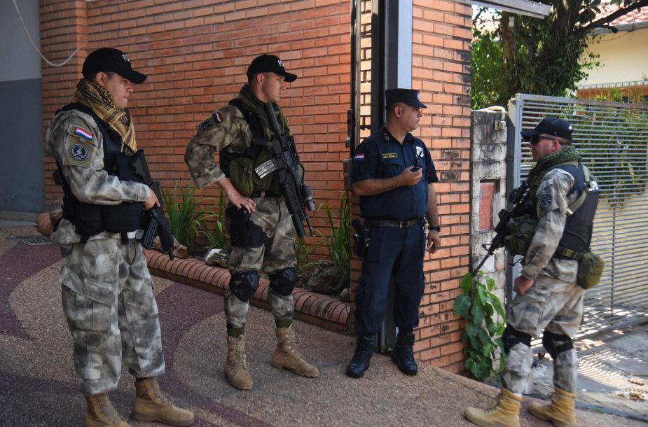 Brazilijos kariai ir policija