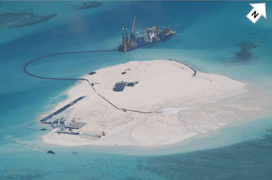 Statybos Spratlio salose