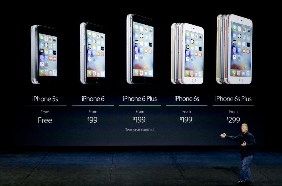 """Naujieji """"iPhone 6s"""" ir """"iPhone 6s Plus"""" – išmaniausi iš išmaniųjų telefonų?"""