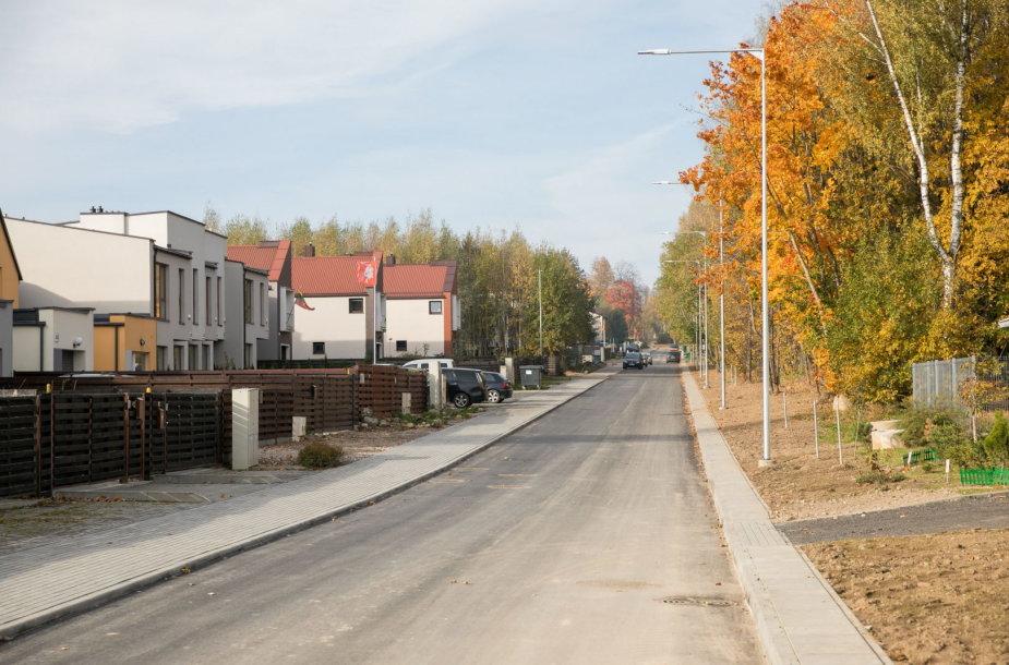 Išasfaltuota gatvė