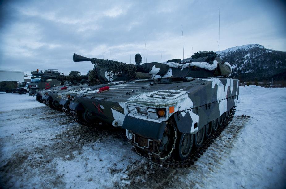Švedijos karinės pajėgos