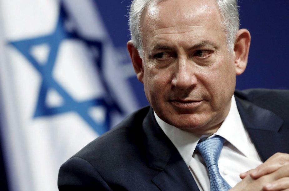 19. Benjaminas Netanyahu – Izraelio ministras pirmininkas