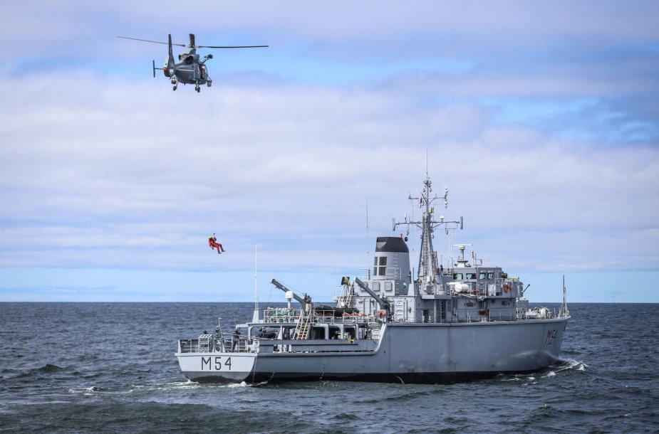 Lietuvos kariuomenės sraigtasparnis