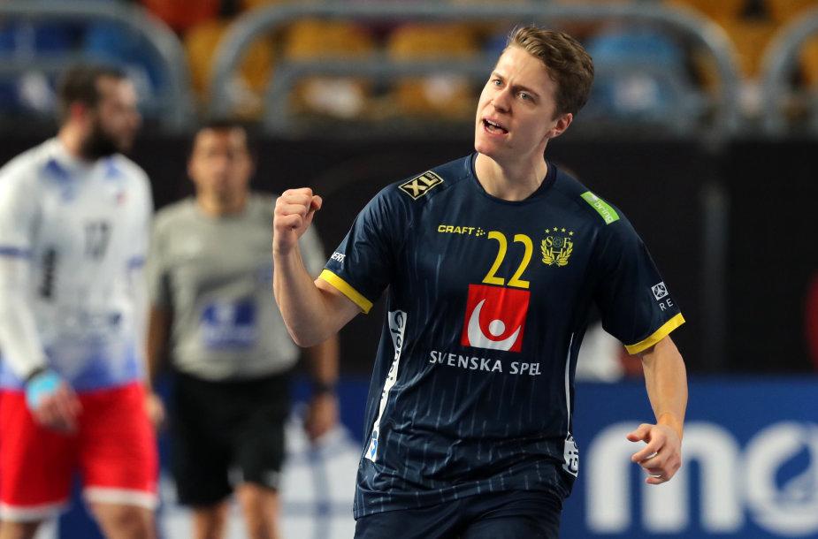 Švedų rankininkas Lucas Pellas