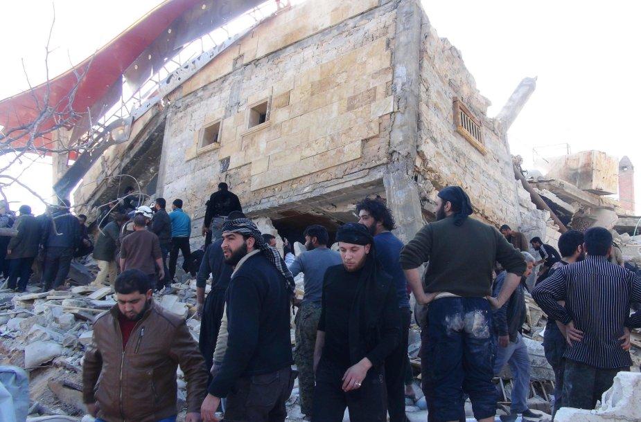 Ligoninės bombardavimas Sirijoje