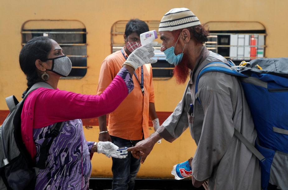 Mumbajus per pandemiją