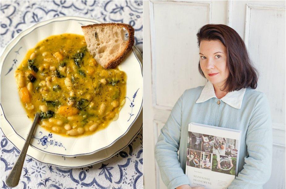 Renata Ničajienė ir jos virta sriuba