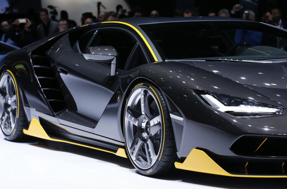 """""""Lamborghini Centenario LP770-4"""" pristatytas Ženevoje"""