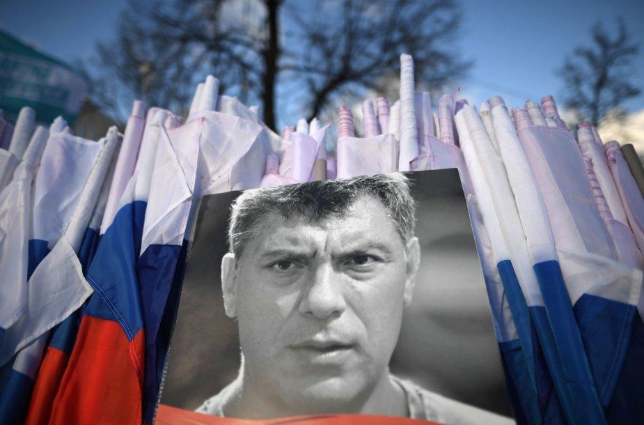 2015 metais Maskvoje nušautas Borisas Nemcovas