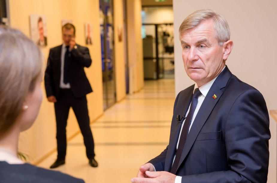 15min studijoje – Seimo pirmininkas Viktoras Pranckietis