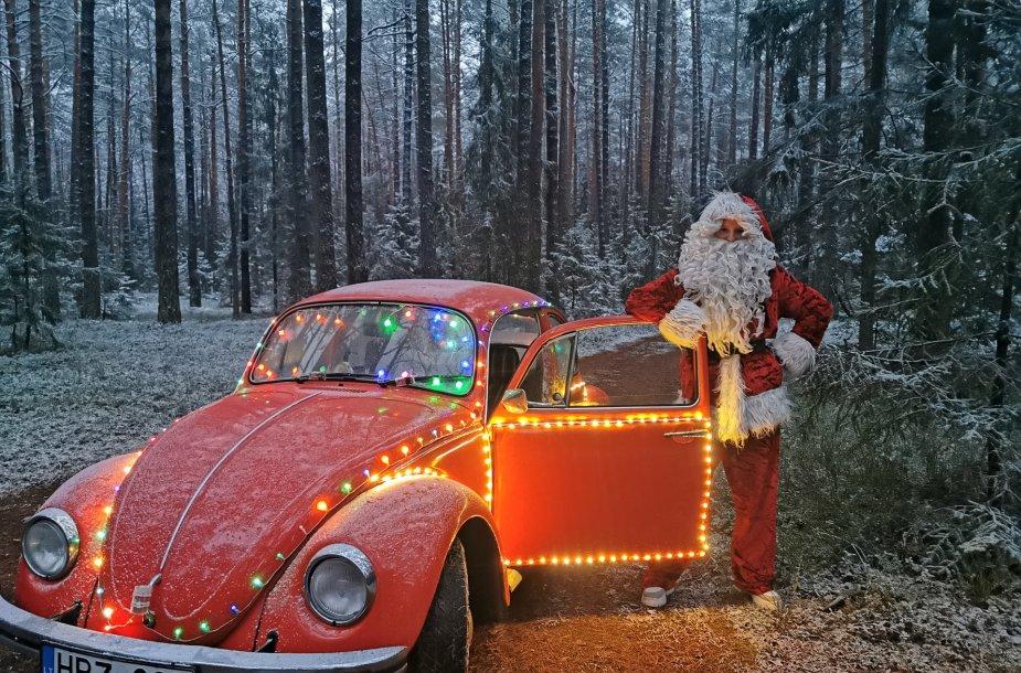 Viačeslavo Mickevičiaus kalėdinis automobilis