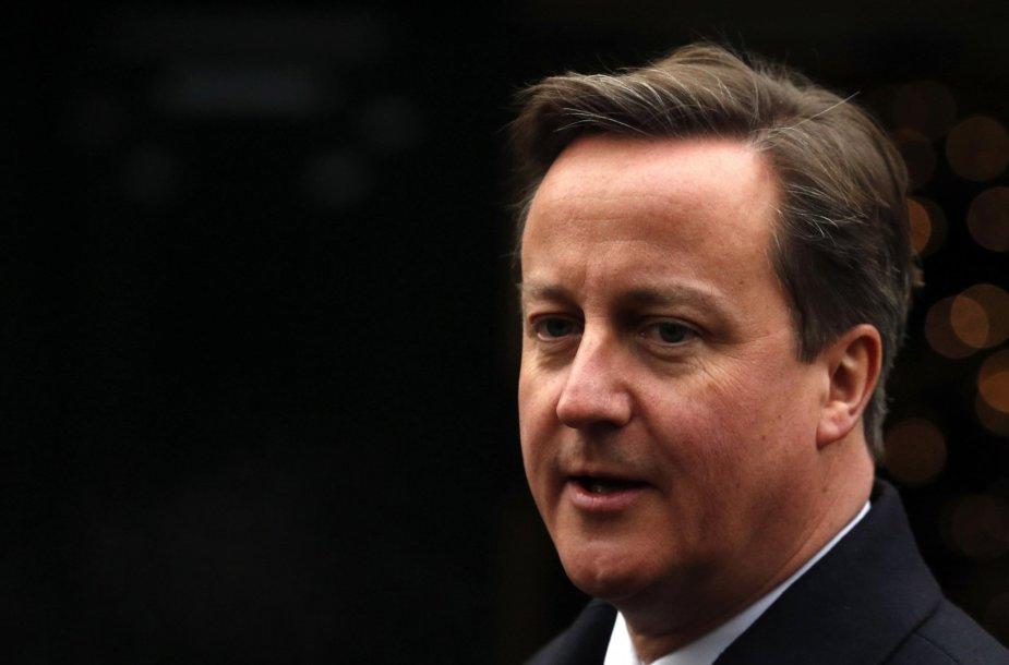 Davidas Cameronas Šiaurės Airijoje