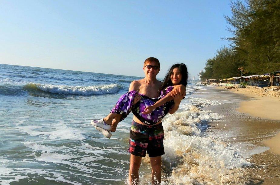 Arūno gyvenimas Tailande