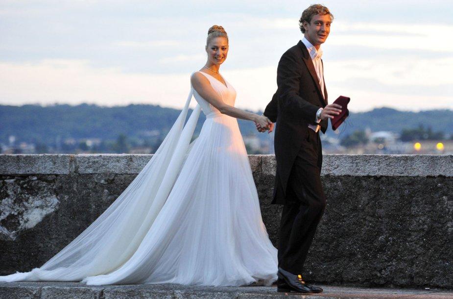 Pierre'as Casiraghi ir Beatrice Borromeo