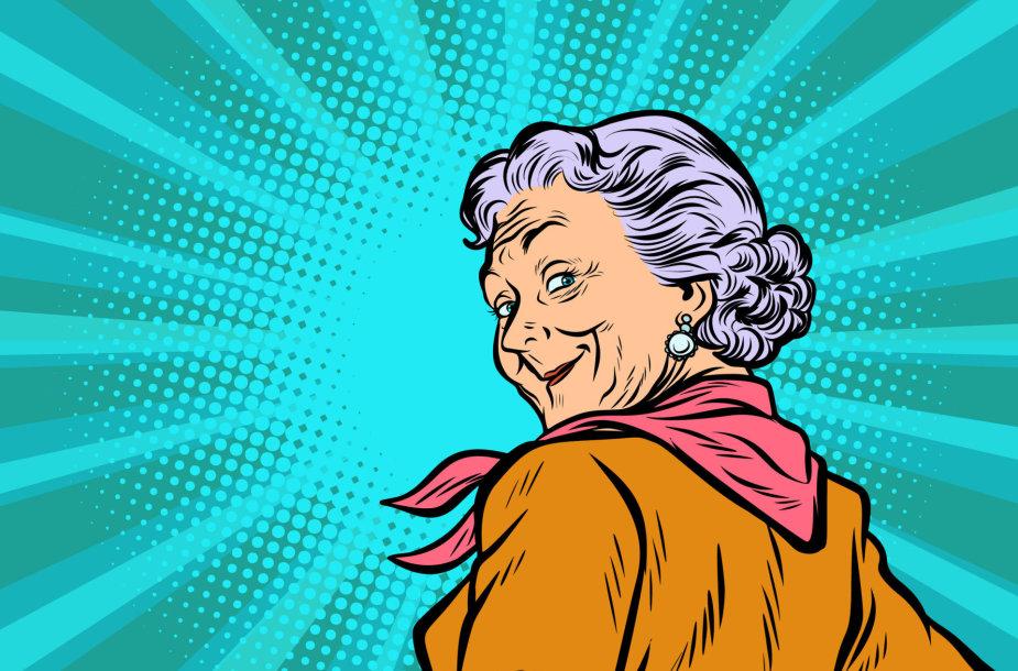 Super močiutė