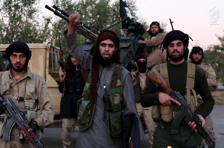"""""""Islamo valstybės"""" kovotojai"""