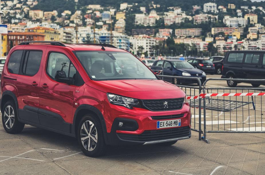 Peugeot Rifter, V.Pilkausko nuotr.