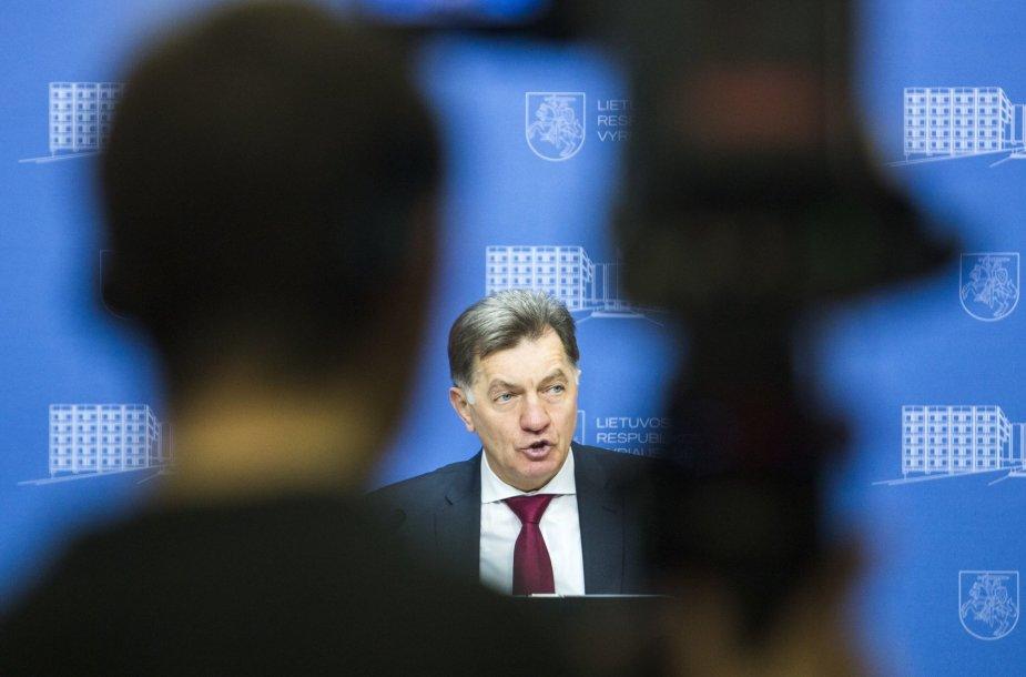 Premjero Algirdo Butkevičiaus metinė spaudos konferencija