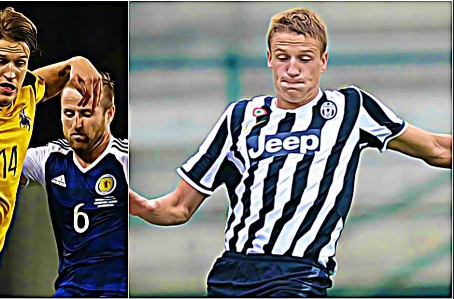 """Vykintas Slivka – Turino """"Juventus"""" sistemos auklėtinis"""