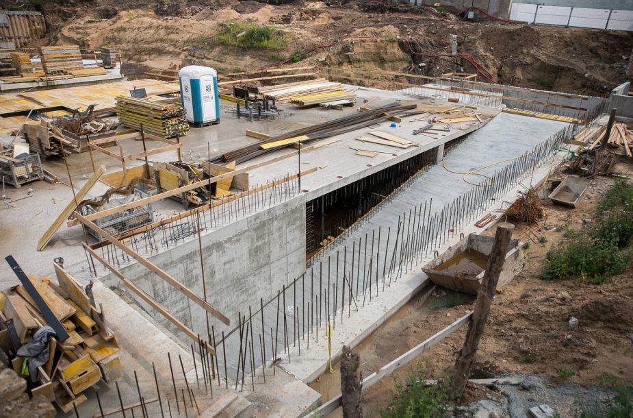 """""""Misionierių sodų"""" projekto statybos"""