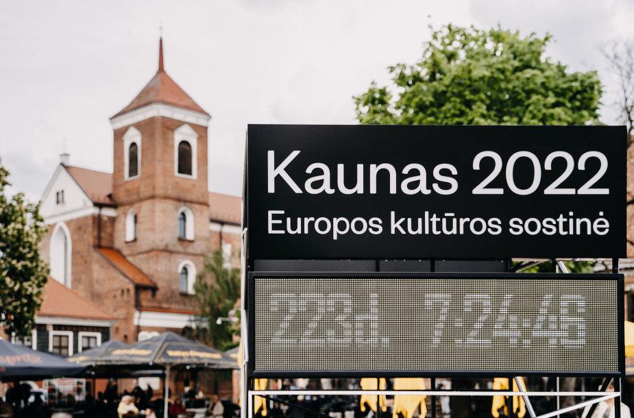 Kaunas ir Kauno rajonas pradeda skaičiuoti laiką iki Europos kultūros sostinės atidarymo