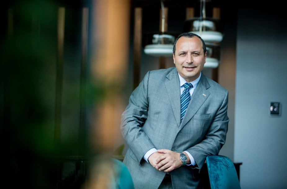 """Radisson Blu Hotel Lietuva"" vadovas Massimo Supino"
