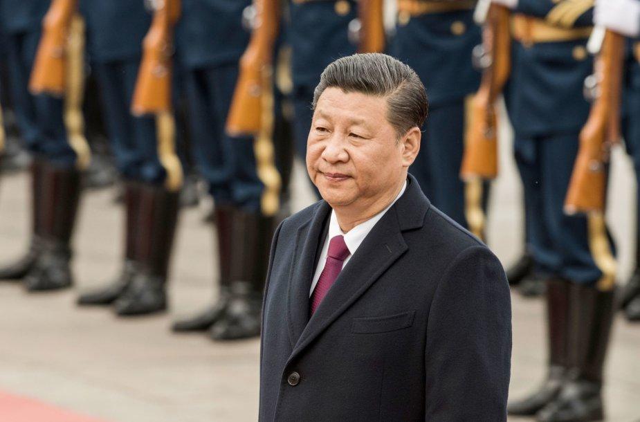 Kinijos lyderis Xi Jinpingas