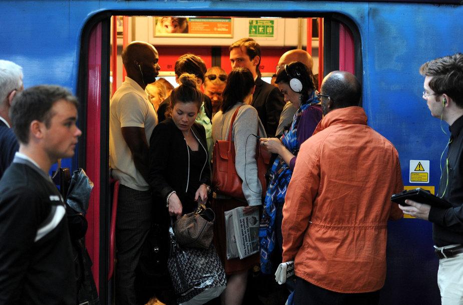 Traukinys Londone