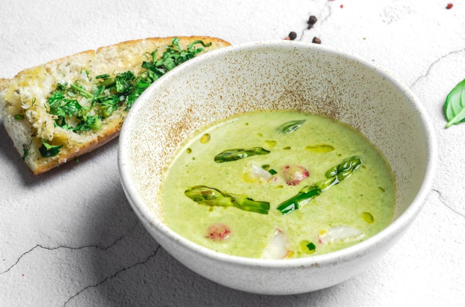 Šalta smidrų sriuba