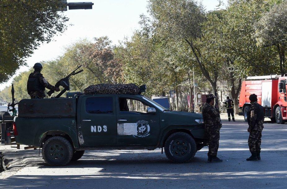 Išpuolis Kabulo universitete