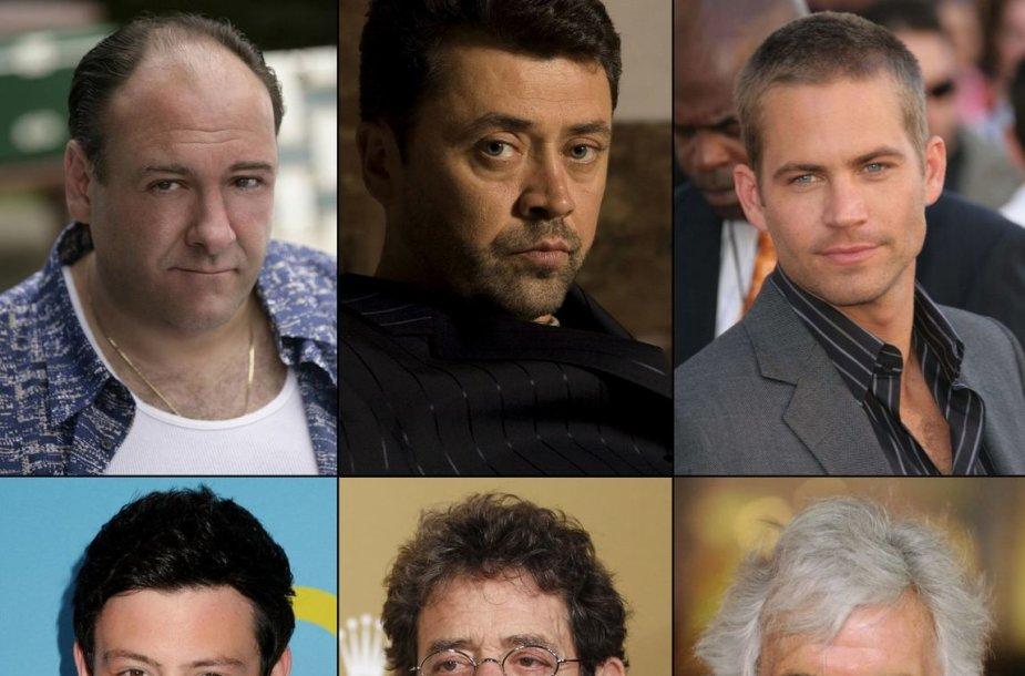 Jamesas Gandolfini, Vytautas Šapranauskas, Paulas Walkeris, Cory Monteithas, Lou Reedas ir Dennisas Farina