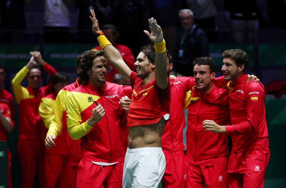 Rafaelis Nadalis ir Ispanijos rinktinė