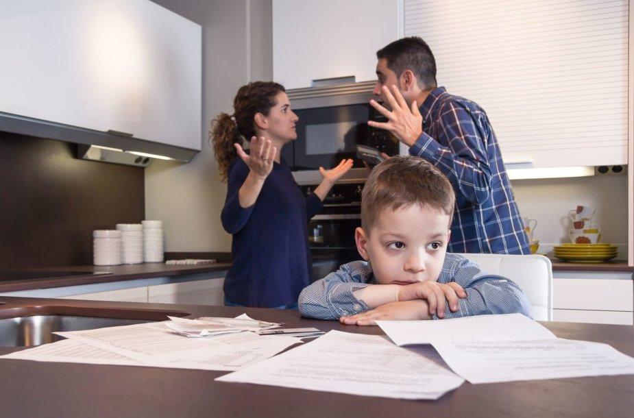 Vaikas ir tėvai