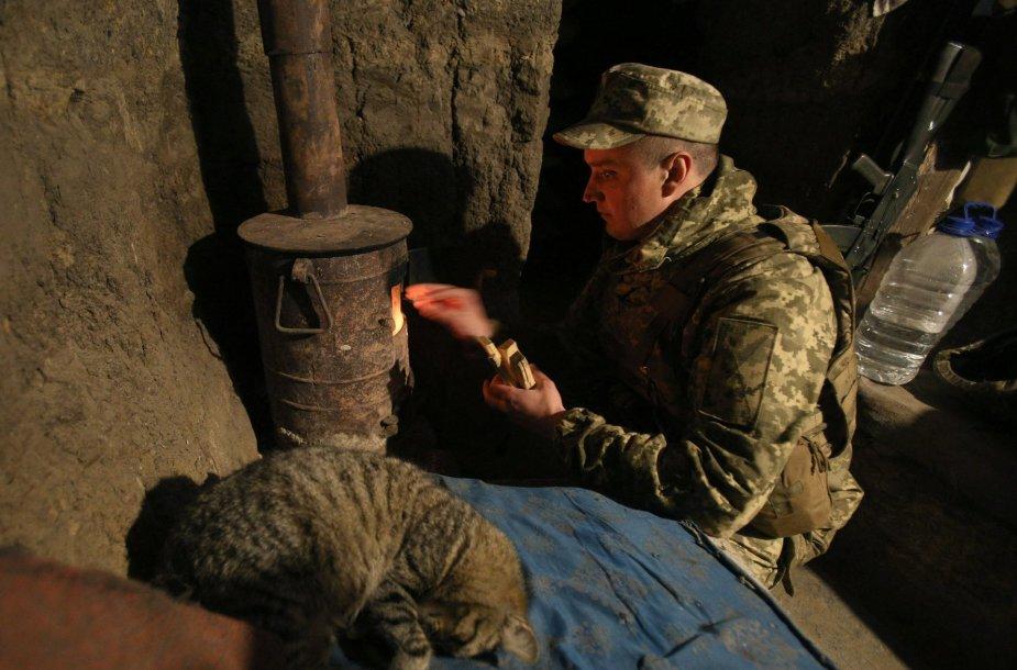 Ukrainos kariai Donecke