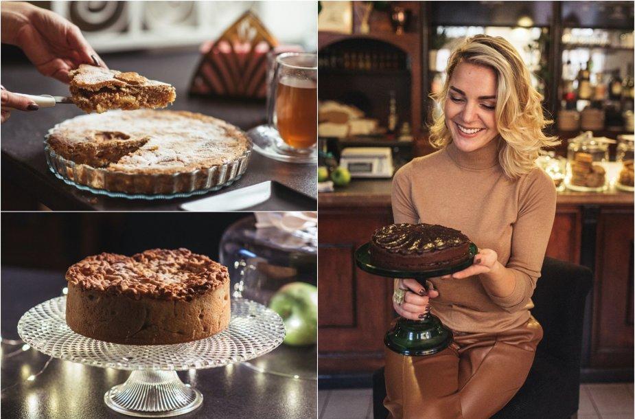 Liucina Rimgailė ir jos kepti pyragai