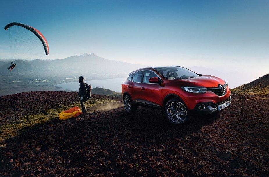 "Naujasis ""Renault Kadjar"""
