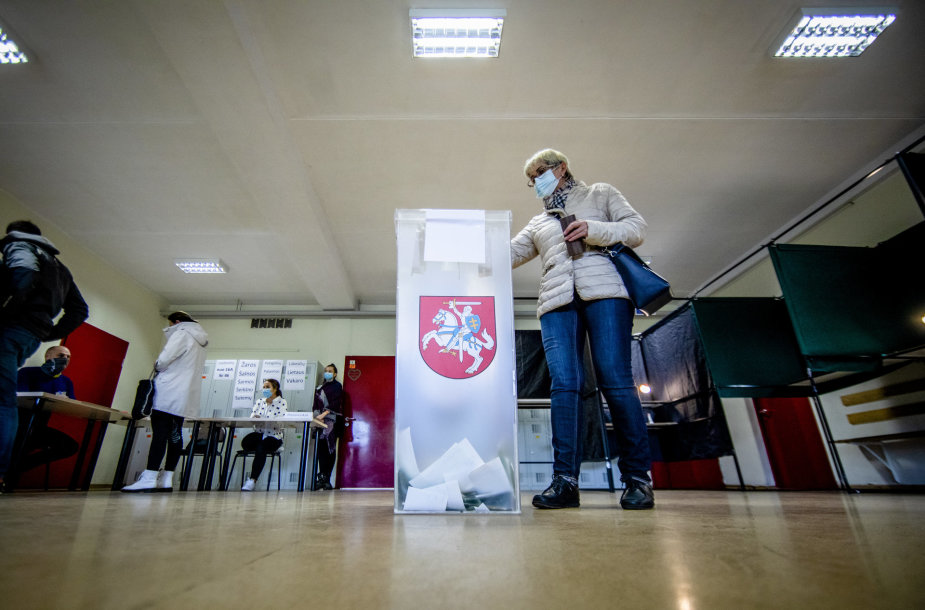 Balsavimas antrame Seimo rinkimų ture
