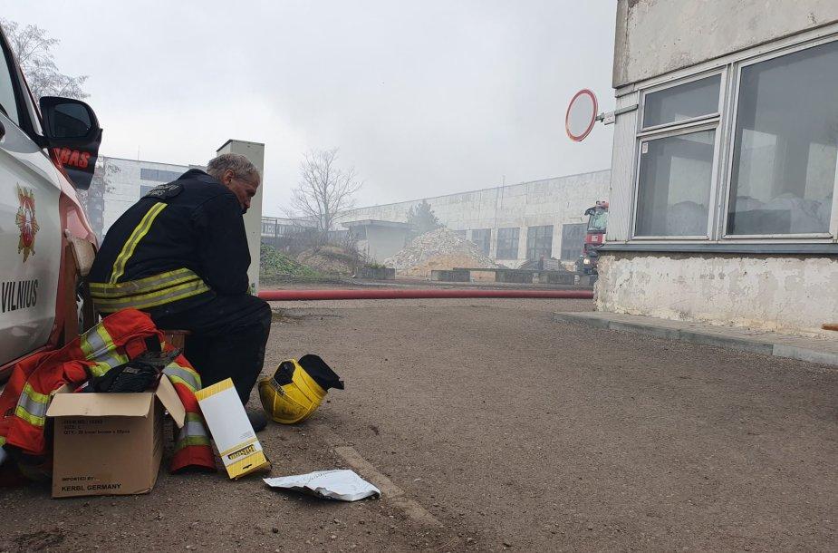 Ugniagesys gelbėtojas