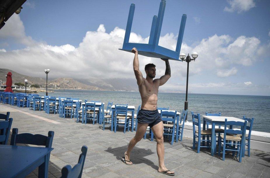Graikija ruošiasi turistų sugrįžimui