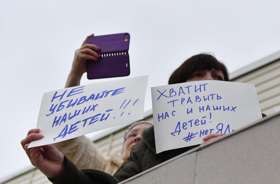 Protestas Volokolamske