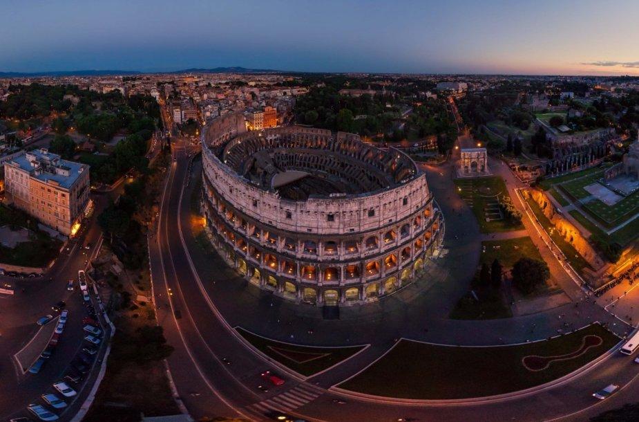 Koliziejus Romoje, Italijoje