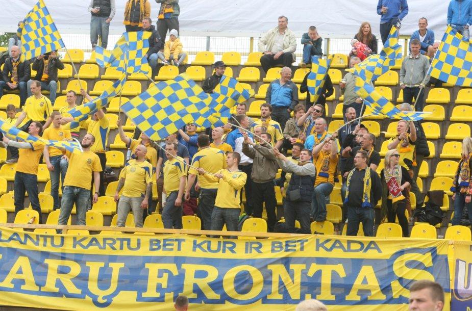 """Lietuvos futbolo federacijos taurės finalas: """"Žalgiris"""" - """"Atlantas"""""""