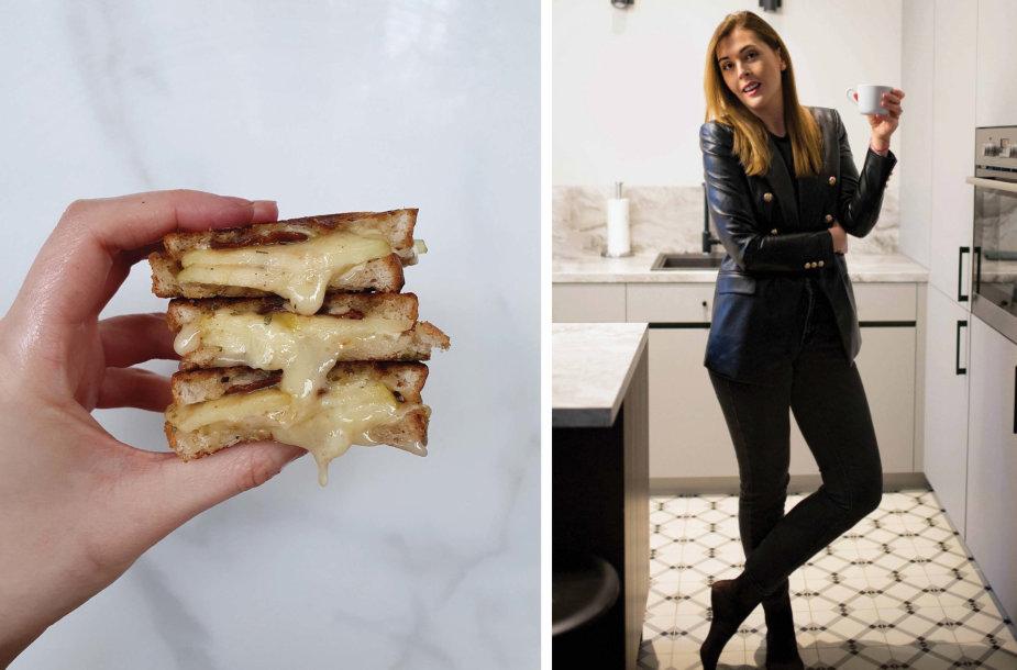 Tinklaraštininkė ir jos kepti sumuštiniai