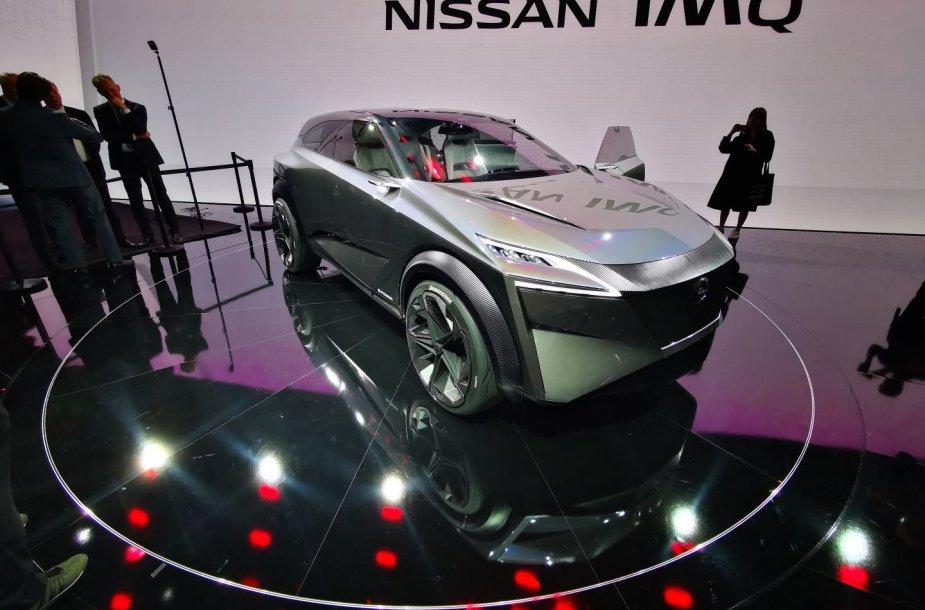 """""""Nissan"""" koncepcija IMq: panašiai atrodys trečios kartos krosoveris"""