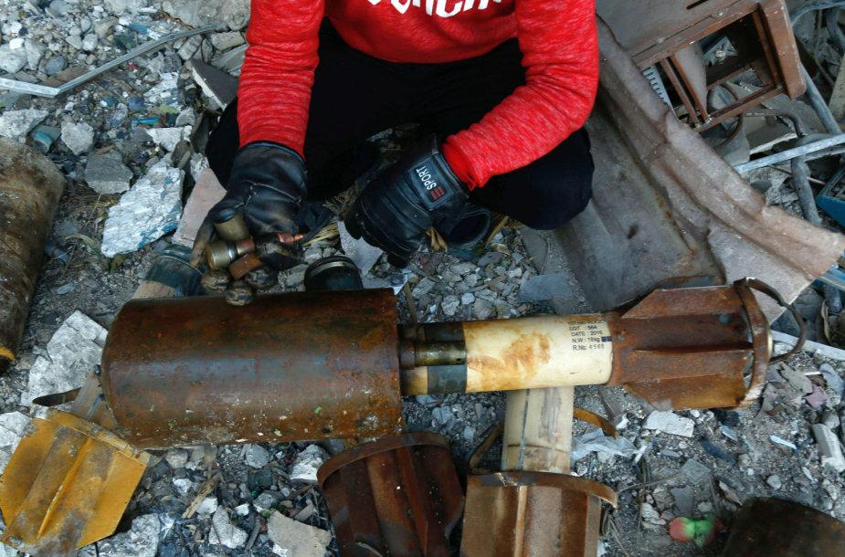 Įtariama, kad dujų ataka buvo surengta Gutos regione esančiame Dumos mieste
