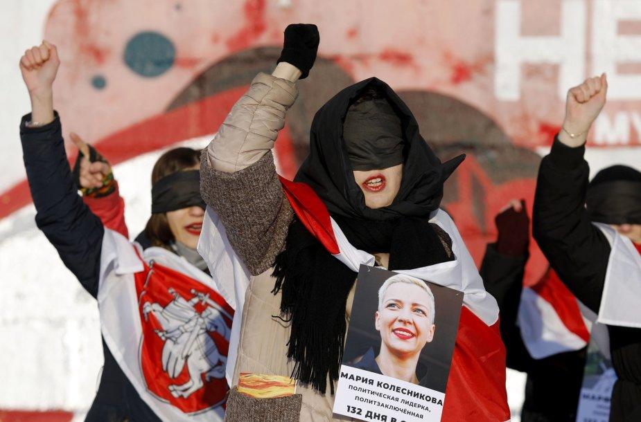 Protestas Minske