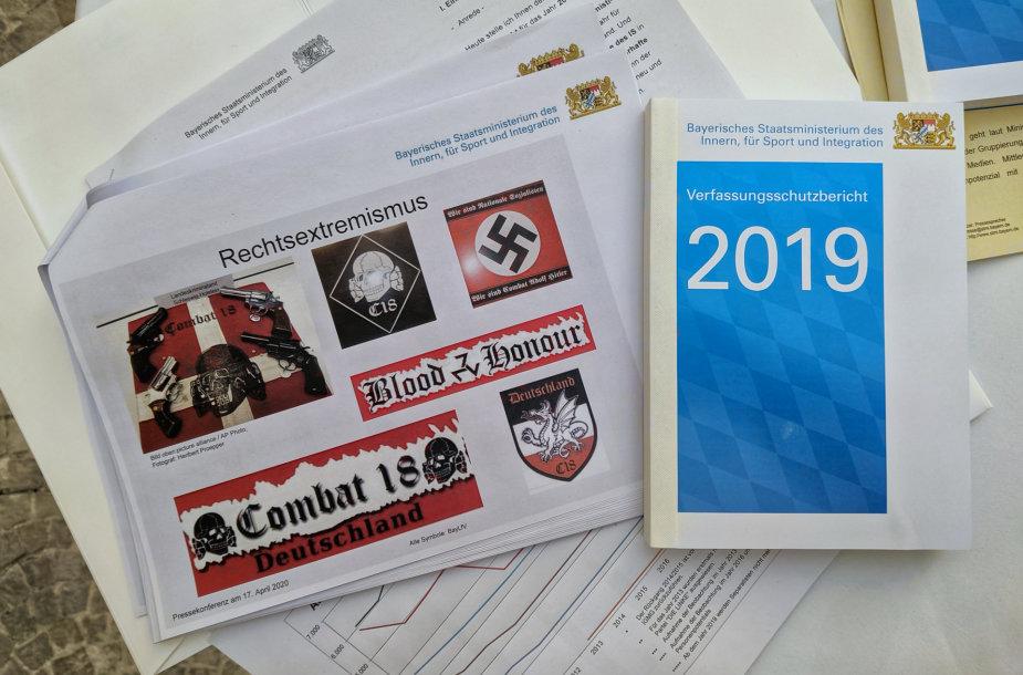 Vokietijos tarnybų ataskaita apie ekstremistų, siekiančių išnaudoti COVID-19 pandemiją, grėsmę