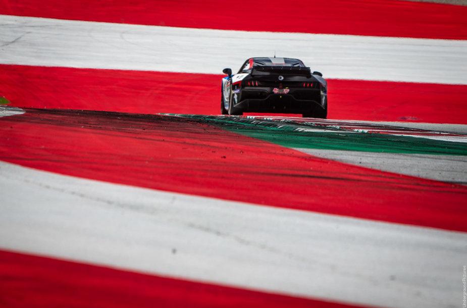 """Lietuviai """"Ligier"""" Europos serijos lenktynėse: Povilas Jankavičius"""