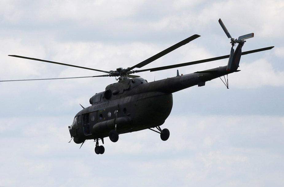 Sraigtasparnis Mi-17